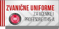 Zvanične uniforme za učenike i profesore ITHS-a