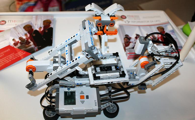 Lego robot ITHS