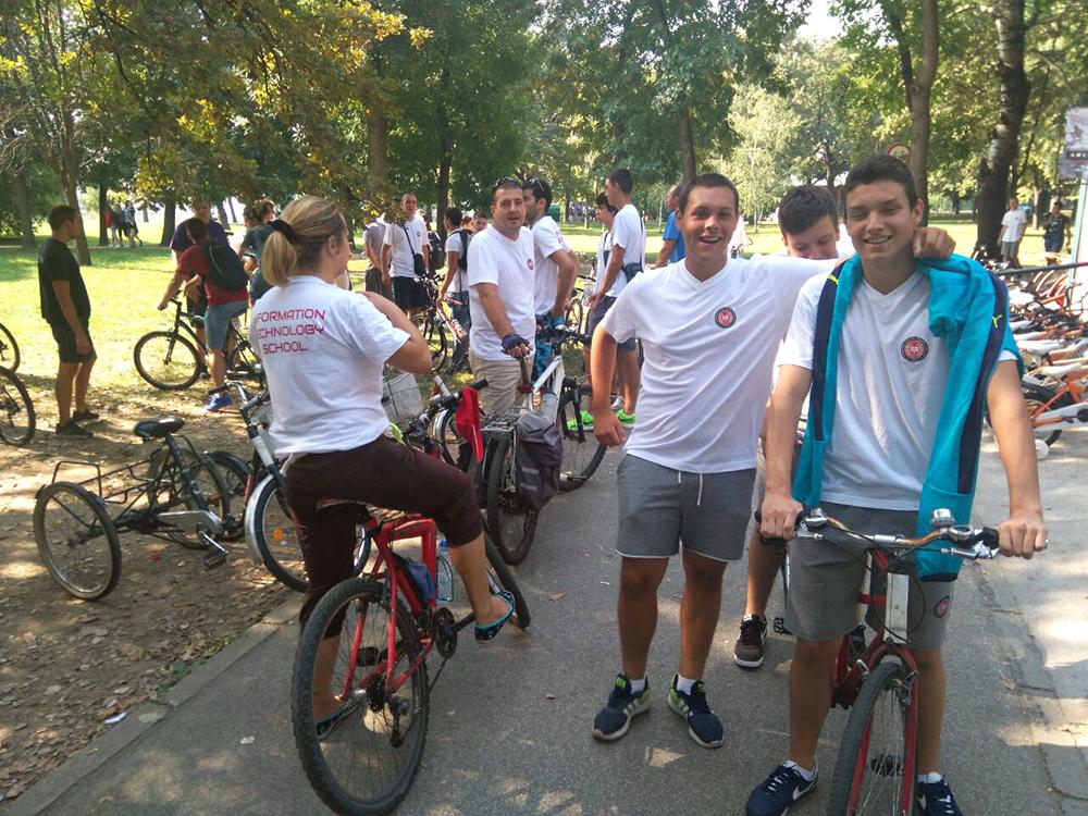 Biciklijada ITHS