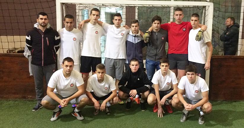 Ucenici ITHS-a na turniru u malom fudbalu